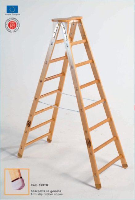 Scala in legno Trevigiana ippis