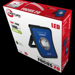 Proiettore LED portatile FOCUS 20w