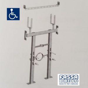 Supporto Wc Sospeso Per Disabili