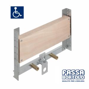 Supporto Lavabo Sospeso Per Disabili