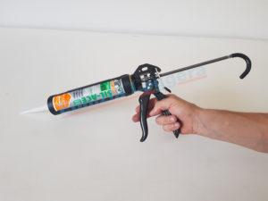 pistola per silicone mungo in metallo