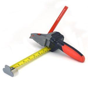 Cutter segnalastre con flessometro per cartongesso Fixline