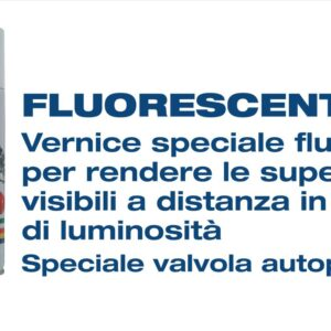 Vernice Fosforescente Spray Laky Color 400ml