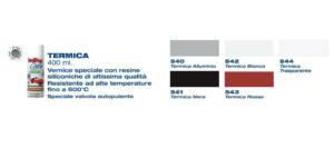 Vernice termica laky color